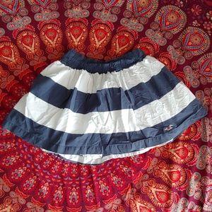 Pleated Hollister Skirt